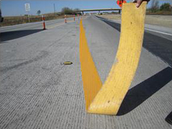 yellow tape removal